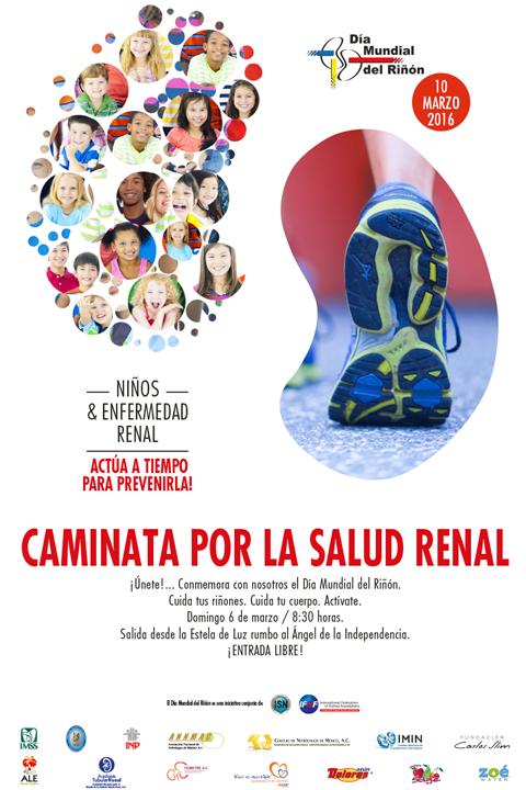3ra Caminata Por la Salud Renal 2016