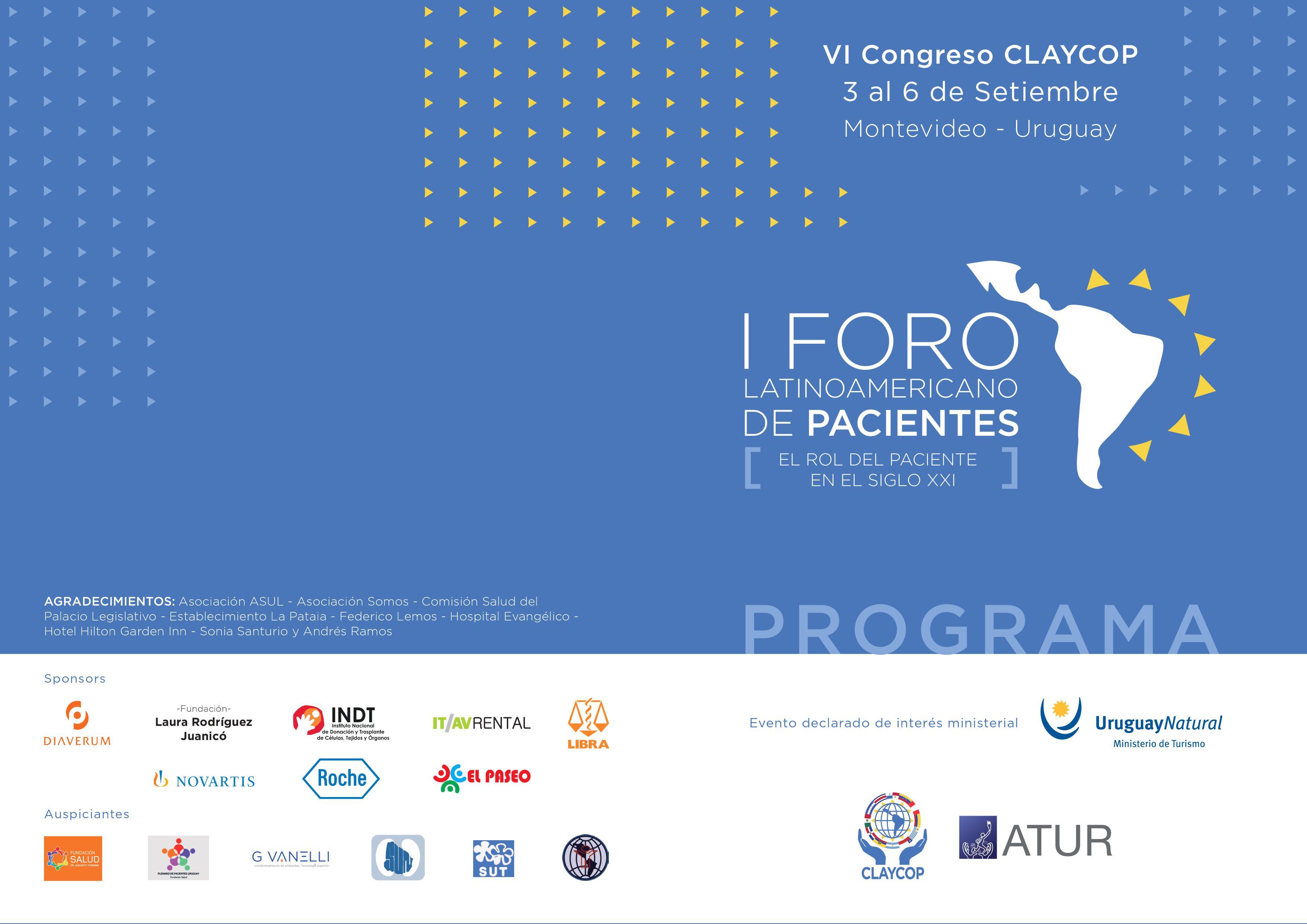 I Foro Latinoamericano de Pacientes, el Rol del Paciente en el Siglo XXI