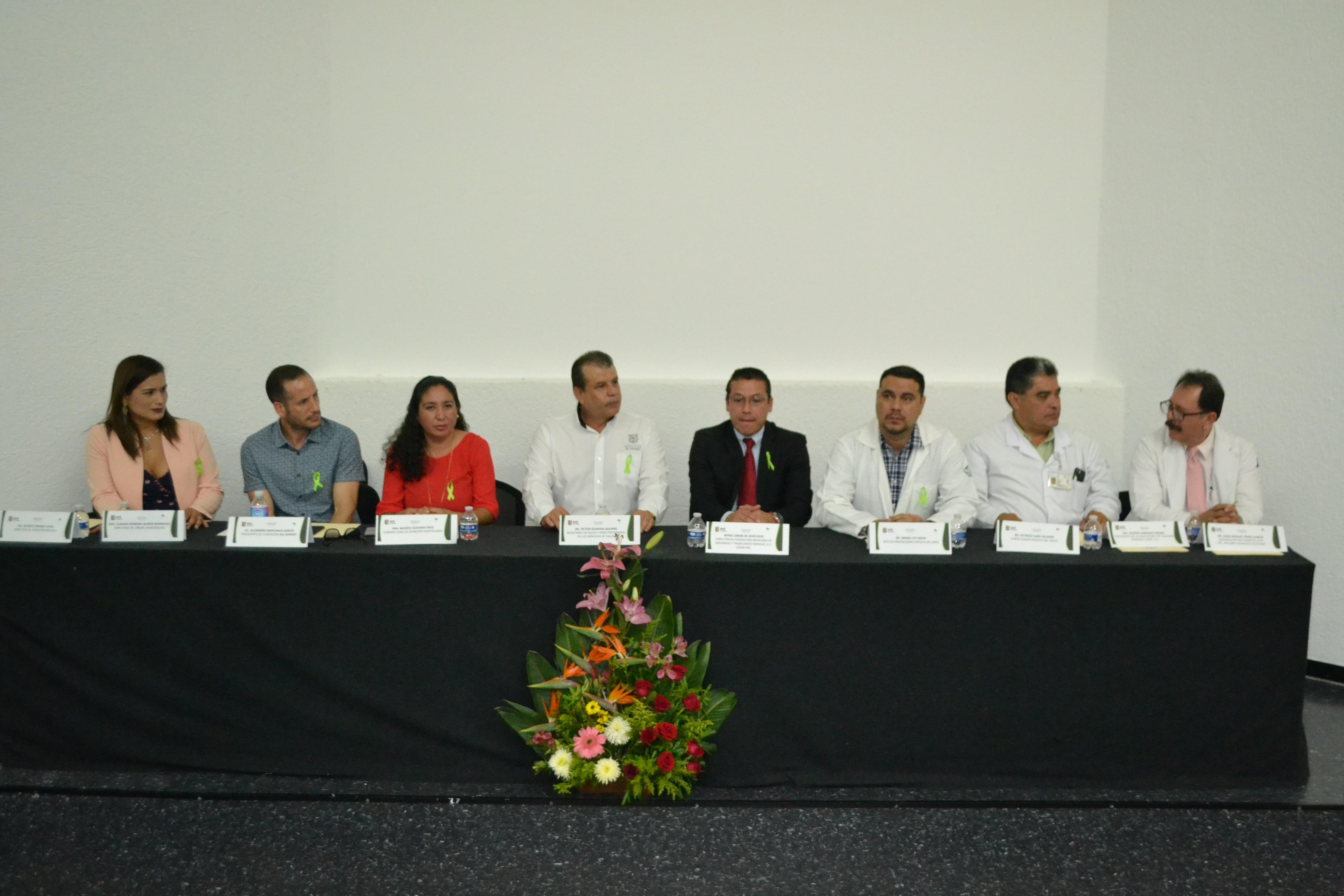 Conmemoración del Día Mundial del Riñón, Tepic, Nayarit, 08 de Marzo