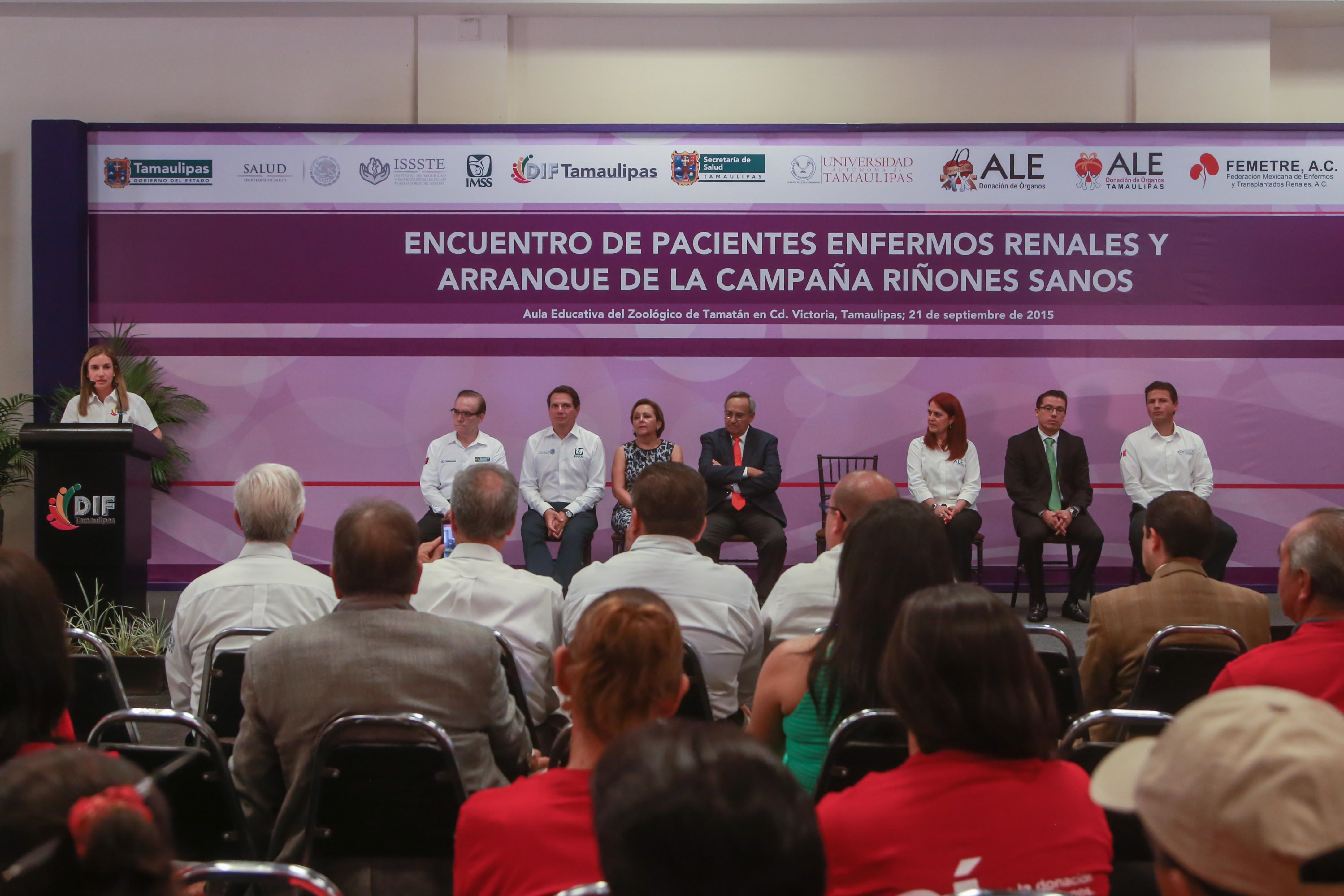 Encuentro de Pacientes Renales, Cd. Victoria, Tamaulipas-21/Septiembre