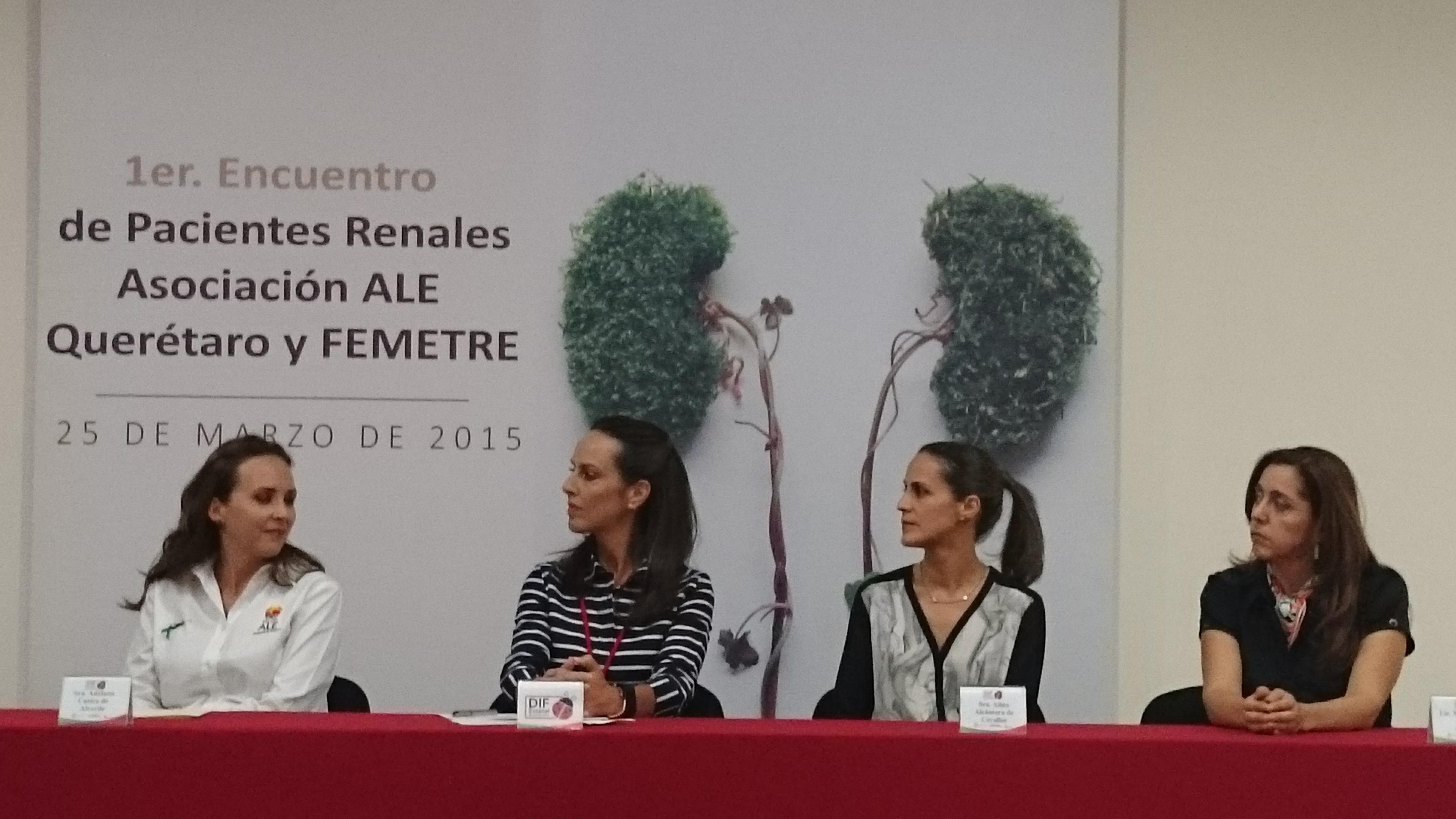 Encuentro de Pacientes Renales, Querètaro-25/Marzo