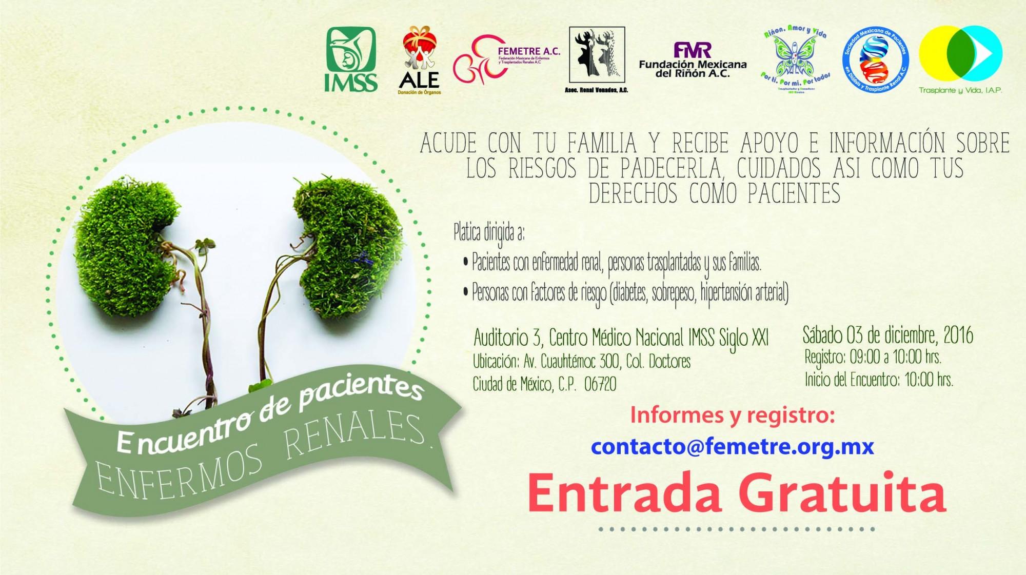 Encuentro de Pacientes Renales CDMX