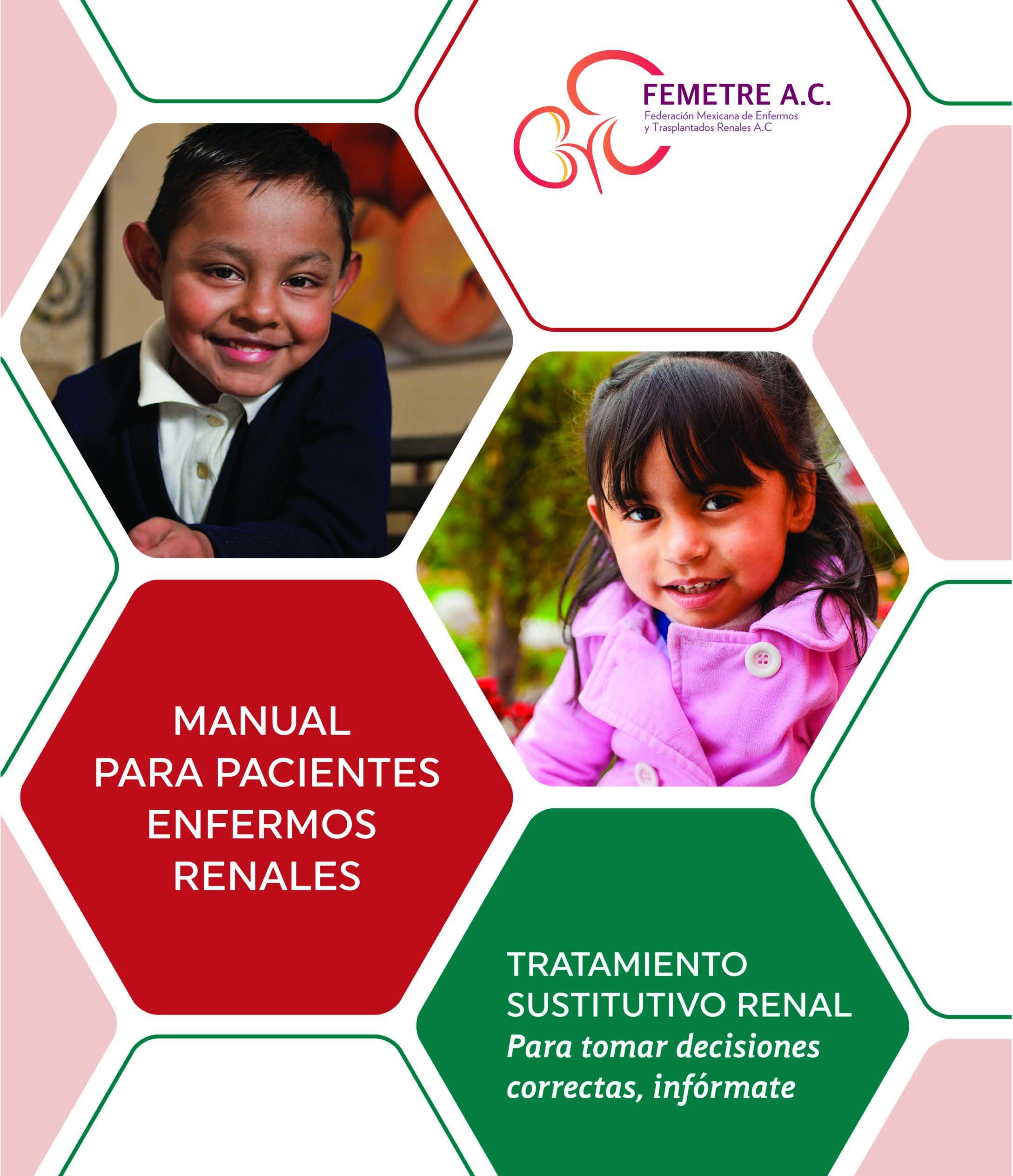 FEMETRE presenta Manual para Pacientes con Enfermedad Renal