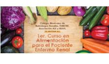 1er. Curso en Alimentación para el Paciente Enfermo Renal, Agosto 2017