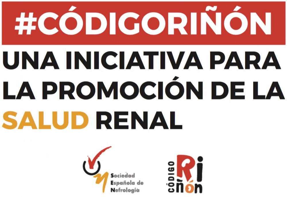 España, #CÓDIGORIÑÓN Una Inciativa para la Promoción de la Salud Renal