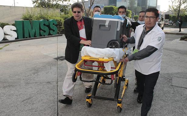 Un Gran Acto de Amor a la Vida, Médicos del Instituto Mexicano del Seguro Social (IMSS) realizaron la procuración multiorgánica de un joven de 17 años de edad,